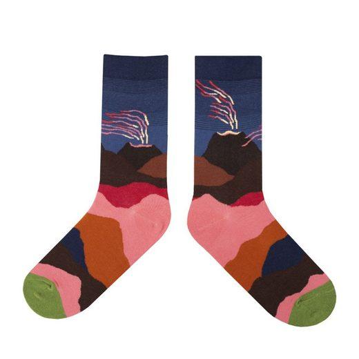 TOPMELON Socken (5-Paar) Unisex Socke, Mit personalisiertem Musterdesign