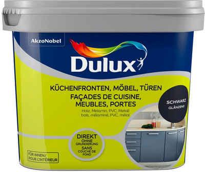 Dulux Holzlack »Fresh Up«, für Küchen, Möbel und Türen, schwarz, 0,75 l