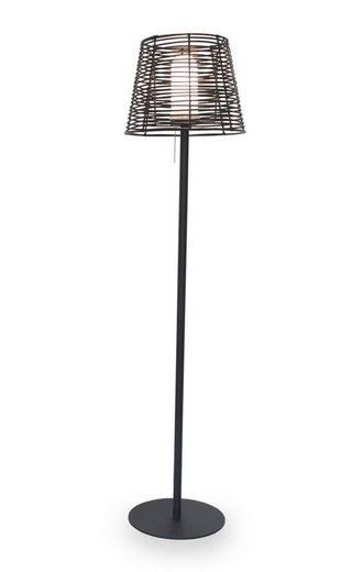 Kiom Stehlampe »Aussen-Stehleuchte Visar F Rattan IP65 145 cm E27«
