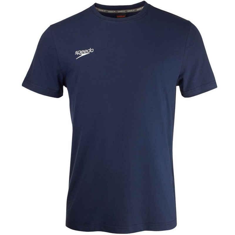 Speedo T-Shirt (1-tlg) mit gesticktem Logo