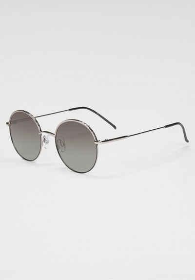 HIS Eyewear Sonnenbrille Rand verziert