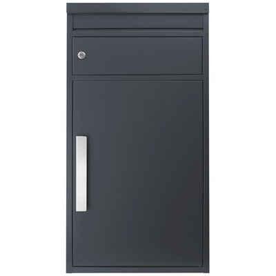 SafePost Briefkasten »Paketbriefkasten SafePost 65M anthrazit RAL 7016 Design-Paketkasten modern«