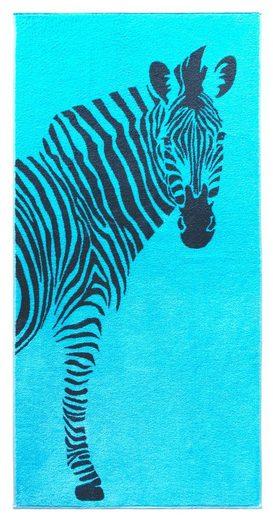 Lashuma Strandtuch »Tiere«, Badetuch 75x150 cm, weiches Handtuch groß