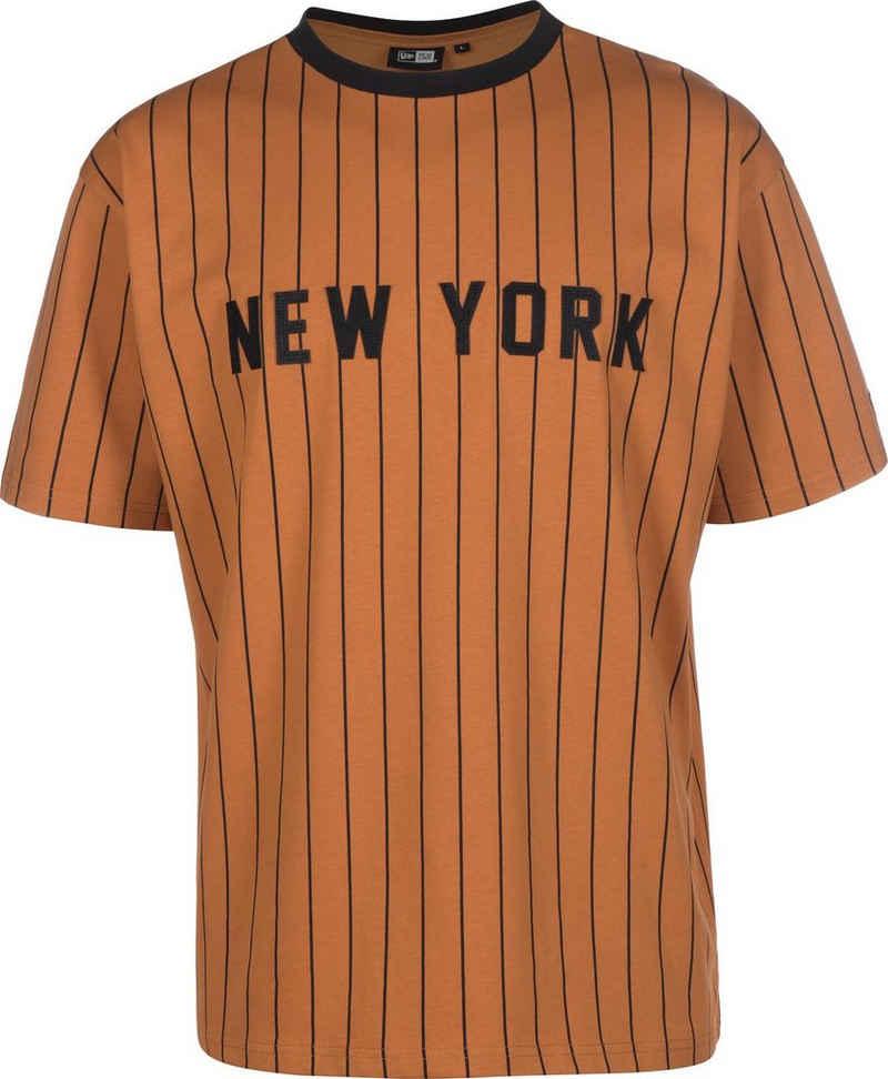 New Era T-Shirt »NY Oversized Pinstripe«