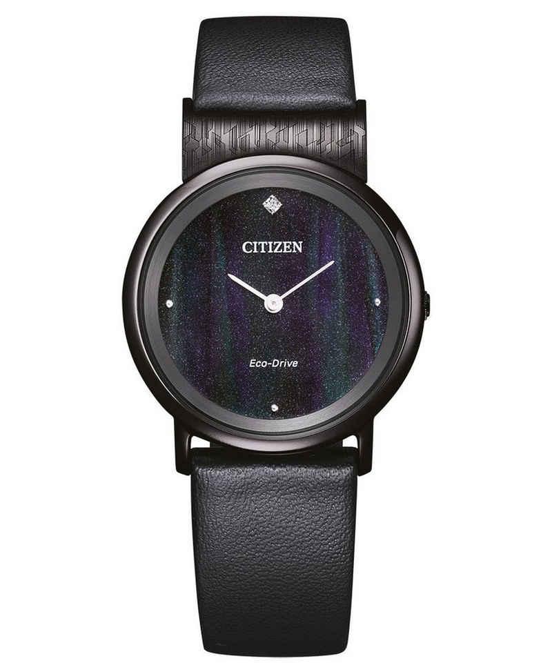 Citizen Solaruhr »Eco-Drive Titan Schwarz«