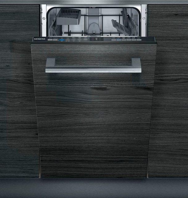 Küchengroßgeräte - SIEMENS vollintegrierbarer Geschirrspüler iQ100, SR61IX05KE, 9 Maßgedecke  - Onlineshop OTTO