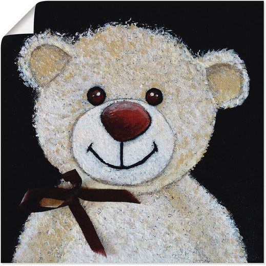 Artland Wandbild »Teddybär«, Spielzeuge (1 Stück)