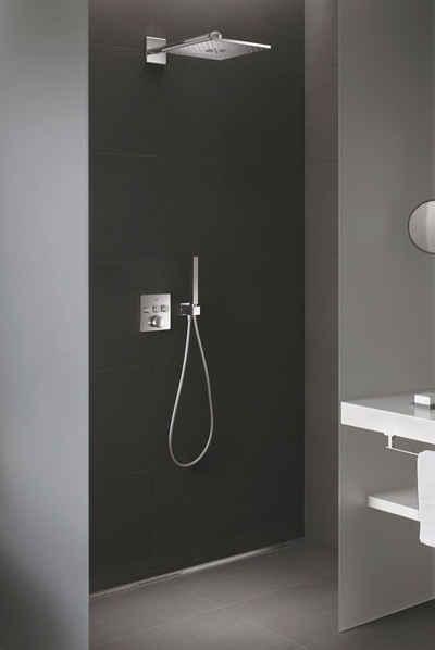 Grohe Duschsystem »Grohtherm Smartcontrol«, Höhe 43 cm, 3 Strahlart(en), mit Rainshower SmartActive 310 Cube