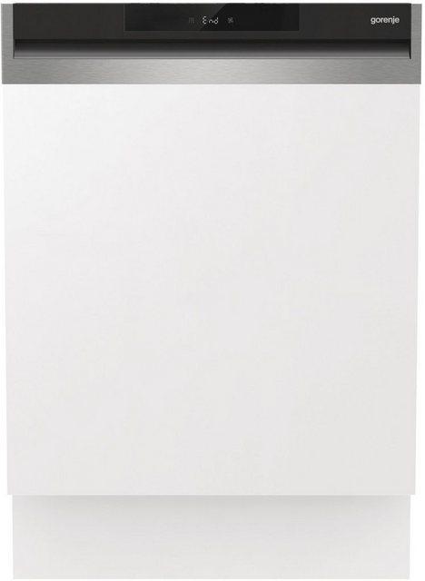 Küchengroßgeräte - GORENJE teilintegrierbarer Geschirrspüler, GI661C60X, 16 Maßgedecke  - Onlineshop OTTO