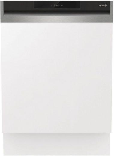 GORENJE teilintegrierbarer Geschirrspüler, GI661C60X, 16 Maßgedecke