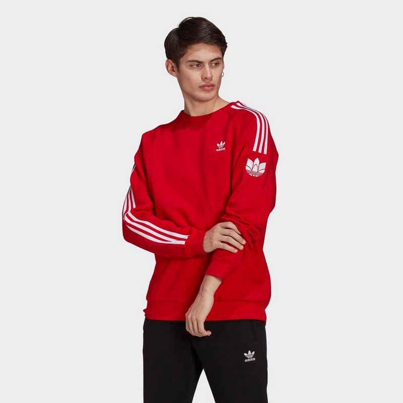 adidas Originals Langarmshirt »LOUNGEWEAR ADICOLOR 3D TREFOIL 3-STREIFEN«