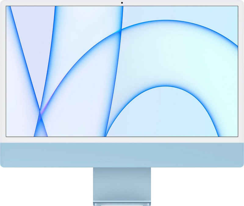 """Apple iMac 24"""" mit 4,5K Retina Display iMac (24 Zoll, Apple M1, 8 GB RAM, 512 GB SSD)"""