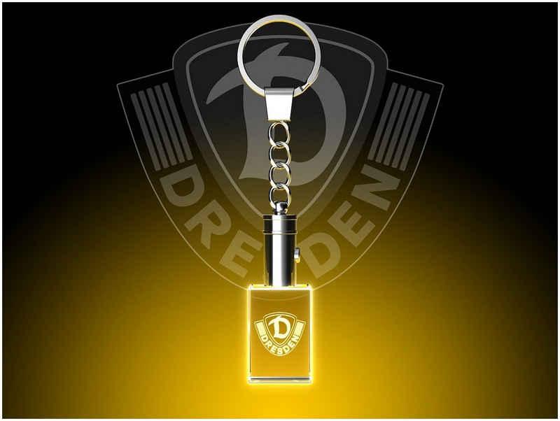 GLASFOTO.COM Dekofigur »Dynamo Dresden - Fanartikel – Kristallglas mit Innengravur als Geschenk für jeden Anlass«