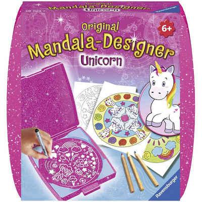 Ravensburger Malvorlage »Mandala-Designer® Mini Set mit 1 Schablone,«