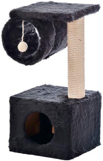 CAT DREAM Kratzbaum , B/T/H: 30/30/57 cm, schwarz