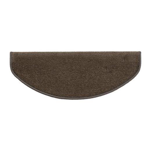 Stufenmatte »Fallon«, Kubus, Halbrund, Höhe 8.5 mm, Velours-Oberfläche