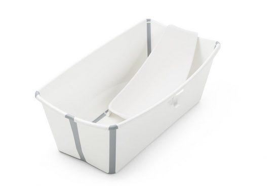 Stokke Babywanne »Flexi Bath® bundle – Kombination aus faltbarer Badewanne für Babys, Kleinkinder & Kinder & einem Newborn Support«