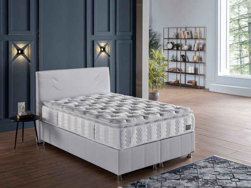 Taschenfederkernmatratze »New Comfort Sleep«, İSTİKBAL, 35 cm hoch, 392 Federn, unvergleichlicher Schlafkomfort, mit aufgenähtem Komfortschaumtopper