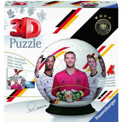 Ravensburger 3D-Puzzle »Puzzle-Ball Die Mannschaft EM2020, 72 Teile«, Puzzleteile
