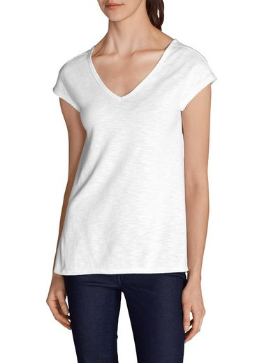 Eddie Bauer T-Shirt im Materialmix