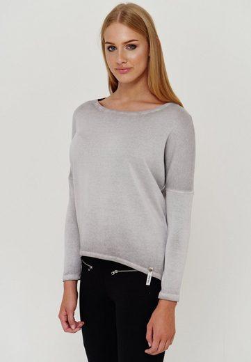 Cotton Candy Langarmshirt  BENTE  mit modischer Mittelnaht