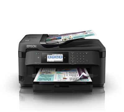 Epson WorkForce WF-7715DWF Tintenstrahldrucker, (WLAN, automatischer Duplexdruck)