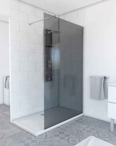 Marwell Walk-in-Dusche »Plano«, Einscheibensicherheitsglas, (1 tlg), 120 x 200 cm