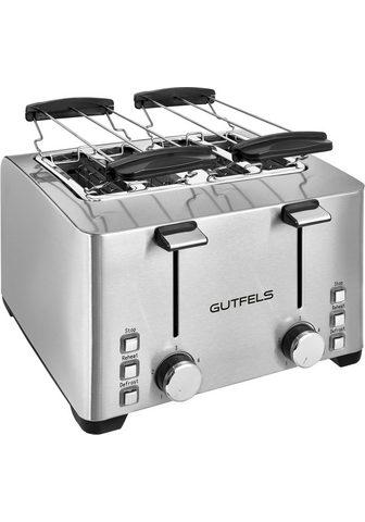 Gutfels Toaster TA 8301 isw 4 kurze Schlitze d...