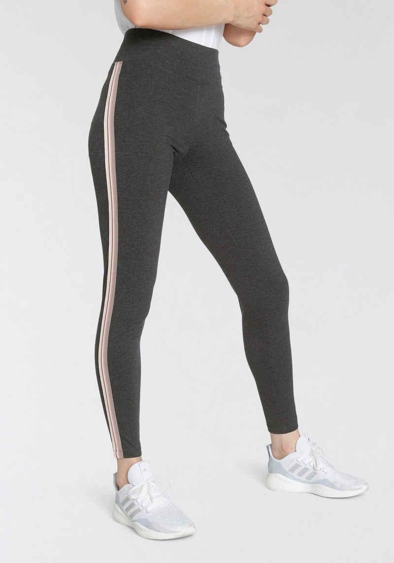 H.I.S Highwaist Leggings »Nachhaltig aus zertifizierter Bio-Baumwolle« mit breitem Komfortbund