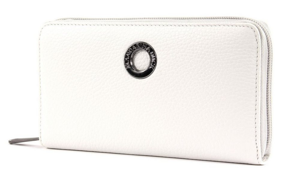 MANDARINA DUCK Mellow Leather Wallet with Flap L Geldbörse Jelly Bean Grün