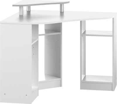 TemaHome Schreibtisch »Corner«, mit einem Melamingestell, einer Tischplatte in unterschiedlichen Farbvarianten, Breite 94 cm