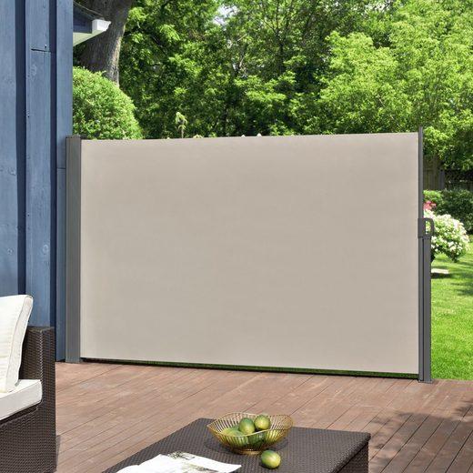 Pro-tec Seitenarmmarkise »Montijo« Markise Sichtschutz Windschutz in verschiedenen Farben und Größen
