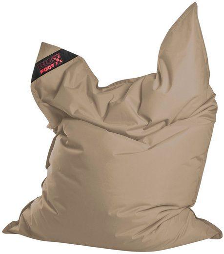 Magma Heimtex Sitzsack »Big Foot«, für Indoor und Outdoor