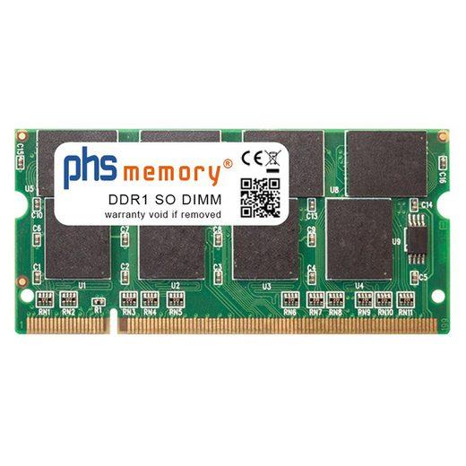 PHS-memory »RAM für HP Pavilion zv5207ap« Arbeitsspeicher