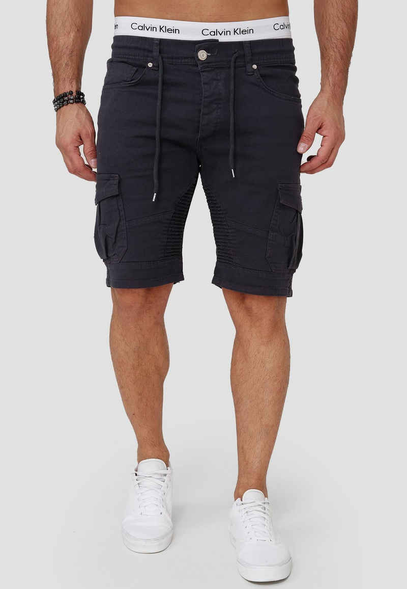 OneRedox Shorts »SH-3363« (Kurze Hose Bermudas Sweatpants, 1-tlg., im modischem Design) Fitness Freizeit Casual