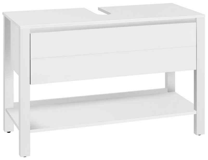Home affaire Waschbeckenunterschrank »Kaika« Breite 100 cm