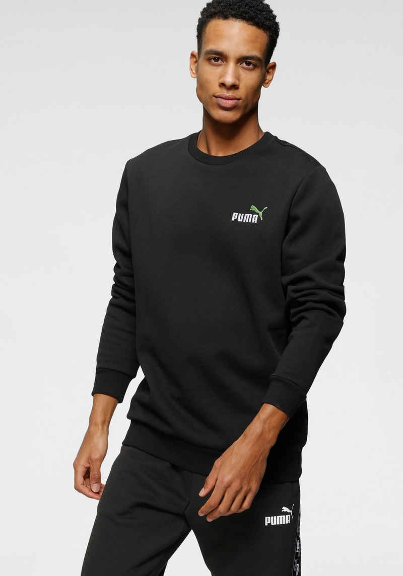 PUMA Sweatshirt »ESS+ Embroidery Logo Crew FL«