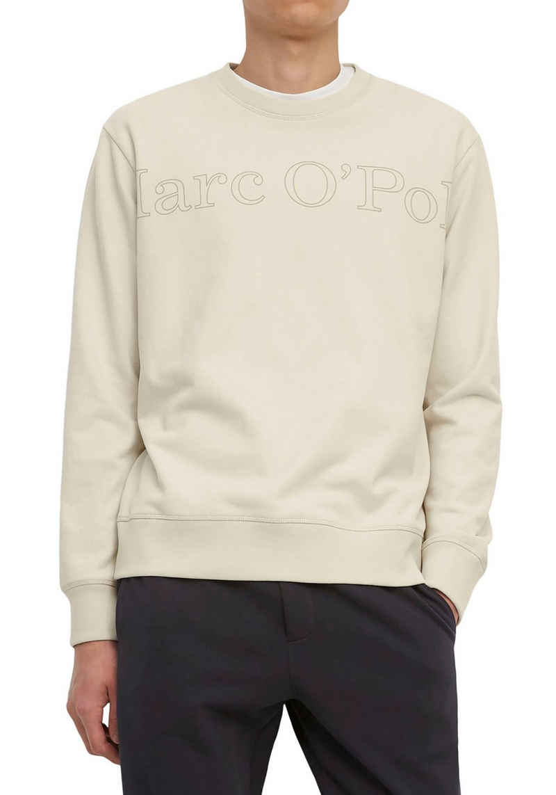 Marc O'Polo Sweatshirt mit gerippten Abschlüssen