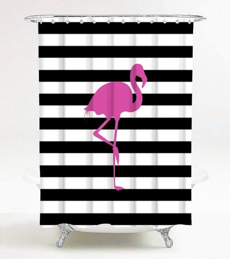 Sanilo Duschvorhang »Flamingo« Breite 180 cm, 180 x 200 cm