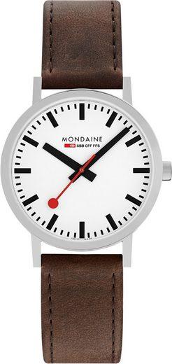 MONDAINE Schweizer Uhr »Classic, A660.30360.11SBG«