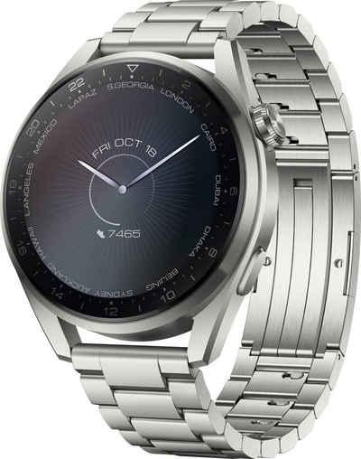 Huawei WATCH 3 Pro Elite Galileo-L50E Smartwatch (3,63 cm/1,43 Zoll, Harmony OS)