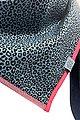Wishproject® Dreieckstuch »Damen XXL-Tuch, Wild & Funky, Leo Blau« Made in Germany, Label aus recyceltem Meeresplastik, Fair Wear, hochwertige Ausführung, Bild 5