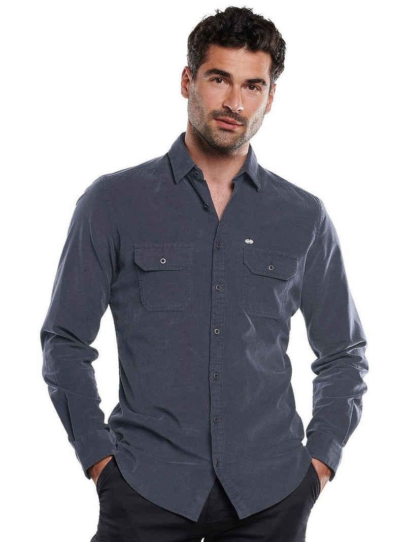 Engbers Langarmhemd »Langarm-Hemd aus Cord«