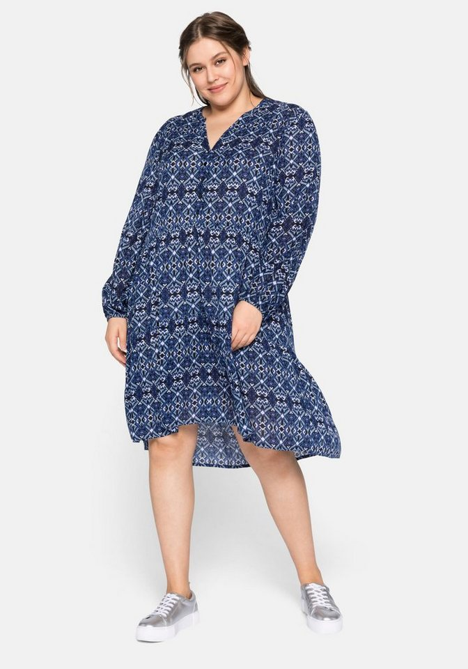 sheego -  Blusenkleid mit Stufen