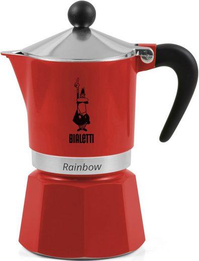 BIALETTI Espressokocher Rainbow, 0,06l Kaffeekanne, Aluminium