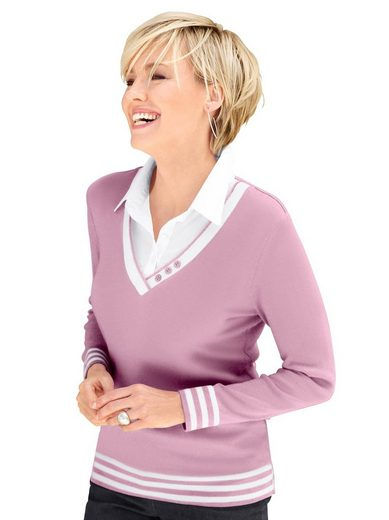 Casual Looks 2-in-1-Pullover »2-in-1-Pullover«
