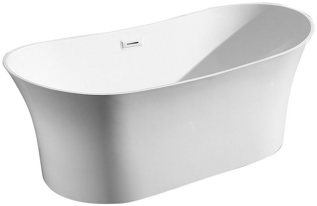 Badewannen und Whirlpools - welltime Badewanne »Spring«, (4 tlg), B T 168 85 cm, freistehende Wanne  - Onlineshop OTTO