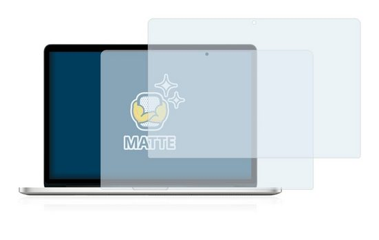 """BROTECT Schutzfolie »für Apple MacBook Pro 15"""" 2012«, Folie Schutzfolie matt entspiegelt"""