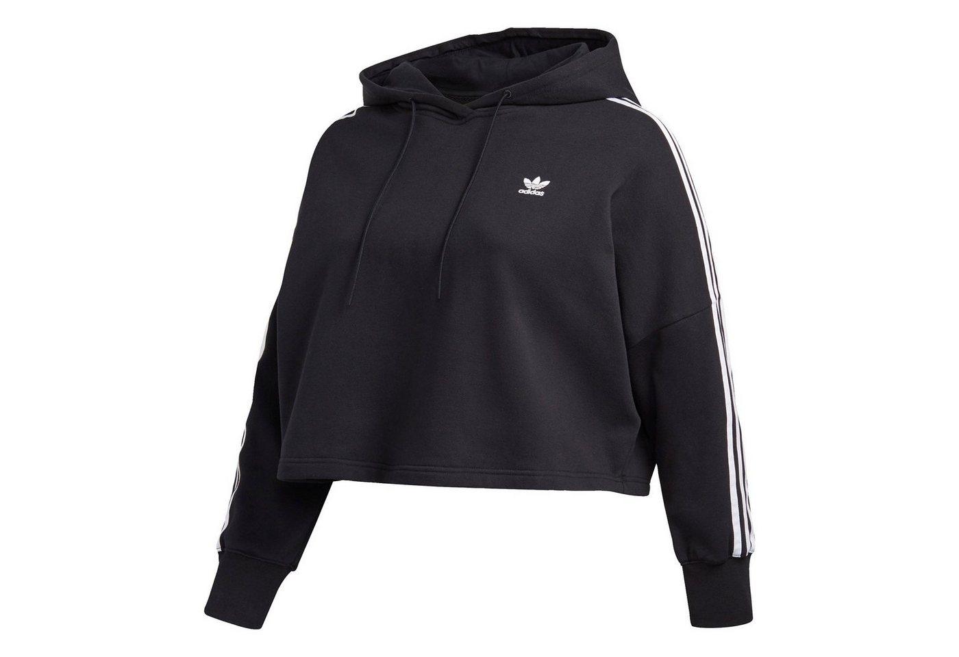 adidas originals -  Trainingspullover »Cropped Hoodie – Große Größen«