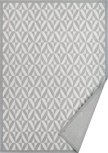 Teppich »Ylvie«, andas, rechteckig, Höhe 7 mm, Wendeteppich mit zwei Designs, Wohnzimmer